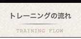 トレーニングの流れ