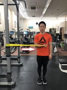 タチリュウコンディショニングジム TR習志野整骨院 肩 五十肩 エクササイズ